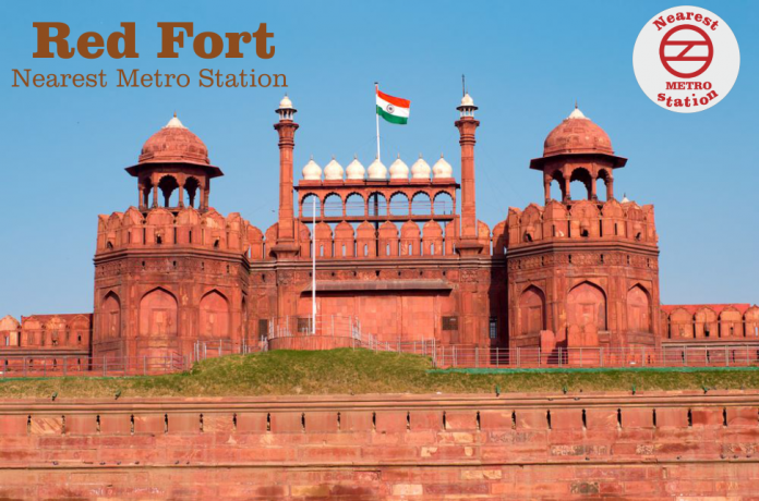 Red fort Nearest Metro Station