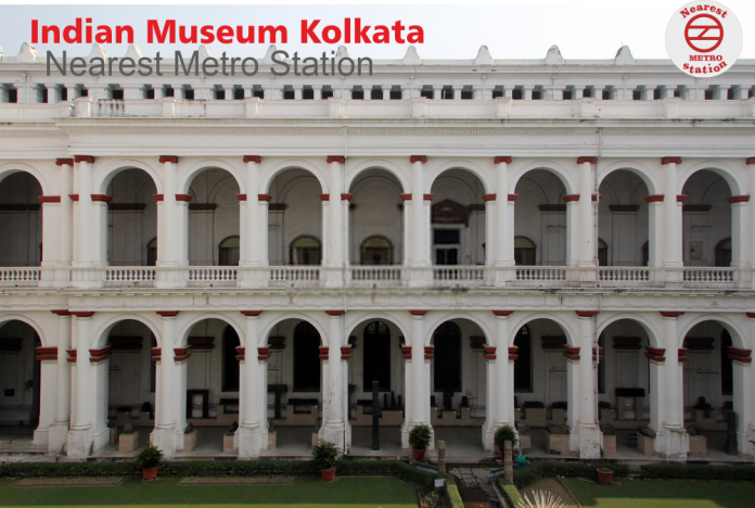 Indian Museum Kolkata nearest metro station