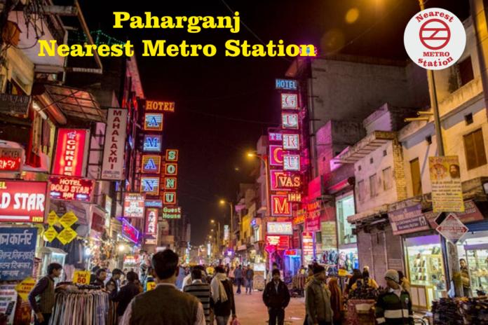 Paharganj Nearest Metro Station