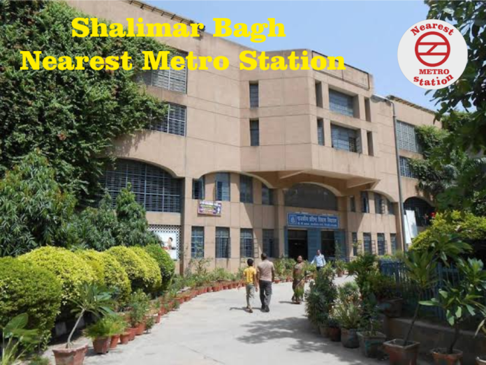 Shalimar Bagh Nearest Metro Station