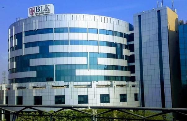 BL Kapoor Hospital Nearest Metro Station