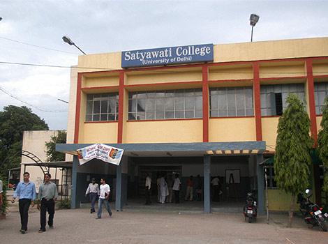 Satyawati College Nearest Metro Station